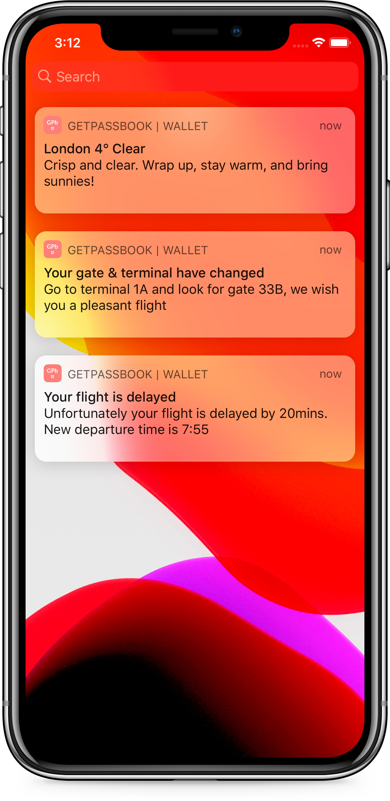 3. Don't get lost, just GetPassbook